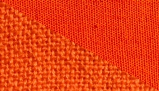 44 Orange Sanguine Aybel Teinture Textile Laine Coton